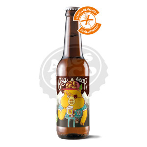 Birra BBC Big Bear GFree 24x330ml BOT