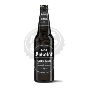Birra BAKAL Dark Beer Tmava 20x500ml BOT