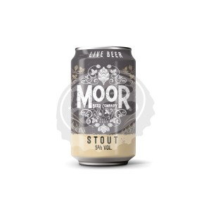 Birra MOOR Stout 12x330ml LAT