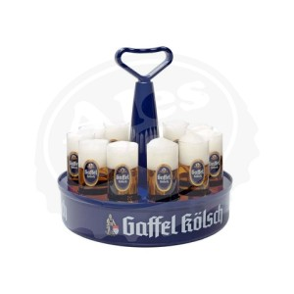 Vassoio Gaffel per bicchieri 11x200ml